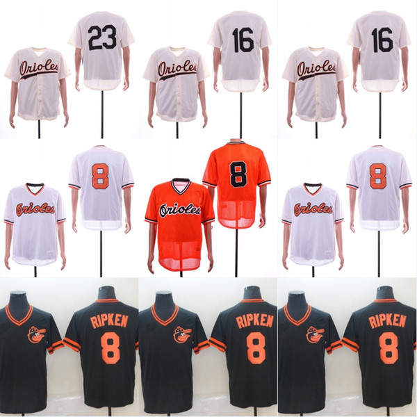 Baltimore Jersey Cal Ripken Jr Batting Practice 16 23 Legend V-Neck Cool Base Double Stiched High Quanlity IN STOCK