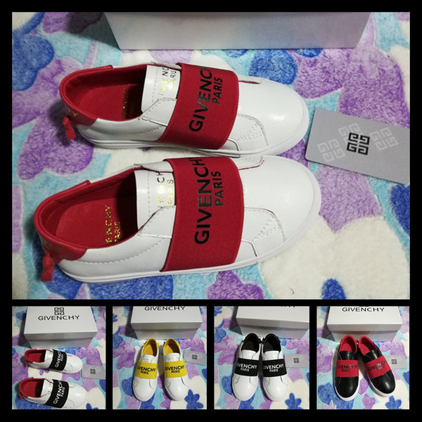Enfants Nouveau Mode Filles chaussures Designer Enfants Enfants Style Casual Chaussures Coréen Couture Modèle Chaussures pour Bébé Garçons