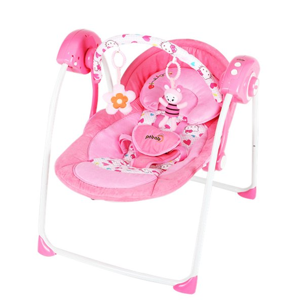 Mobile phone Bluetooth control music baby rocking chair comfort chair baby electric cradle bed recliner sleep shake shake bed