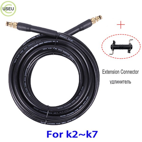 USEU 2610 PSI Manguera de limpieza de agua a presión Reemplazo de la lavadora de presión serie K con boquilla de latón 6M 8M 10M 15M