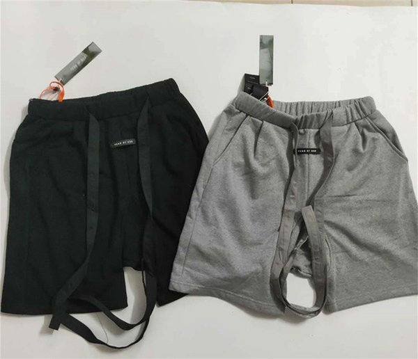 Fog Mens Summer Designer Sports Short Pants 100% Cotton Relaxed Basketball Loose Trousers Fitness Training Apparel