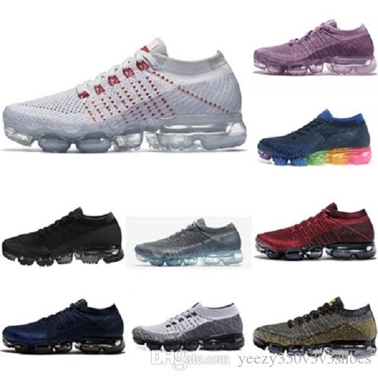 2020 Top Quality Vapors 2018 New Rainbow 2017 Knit Cushion Fashion Athletic Hot Corss Hiking Jogging Outdoor Shoes size us 5.5-11