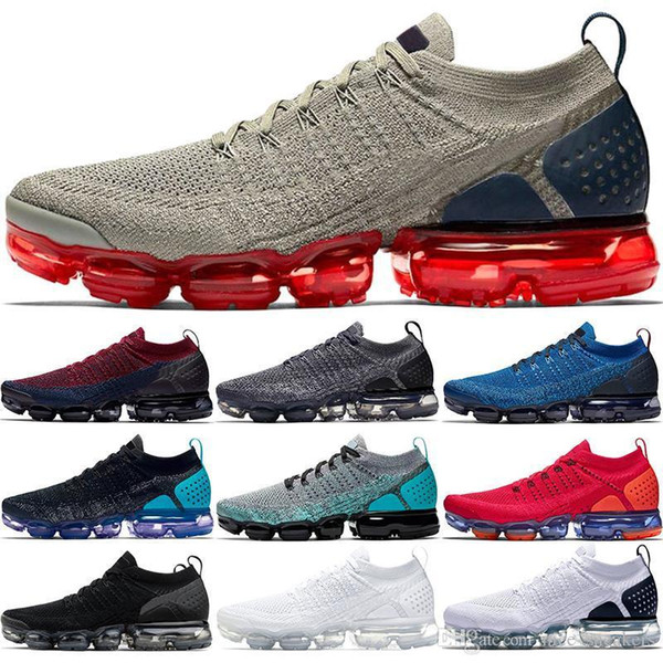 xmaropav 2019 2.0 Men Women Running Shoes Triple Black White Dark Stucco Red Orbit Oreo Olympic Work Blue Sport Sneaker Size 36-45