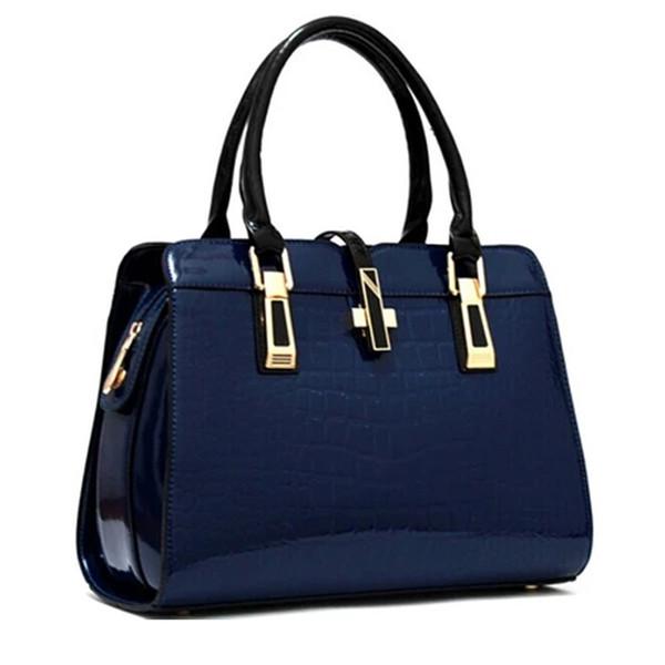 Charm2019 Bag Woman Pattern European Handbag Crocodile Grain Ma'am Single Shoulder Satchel