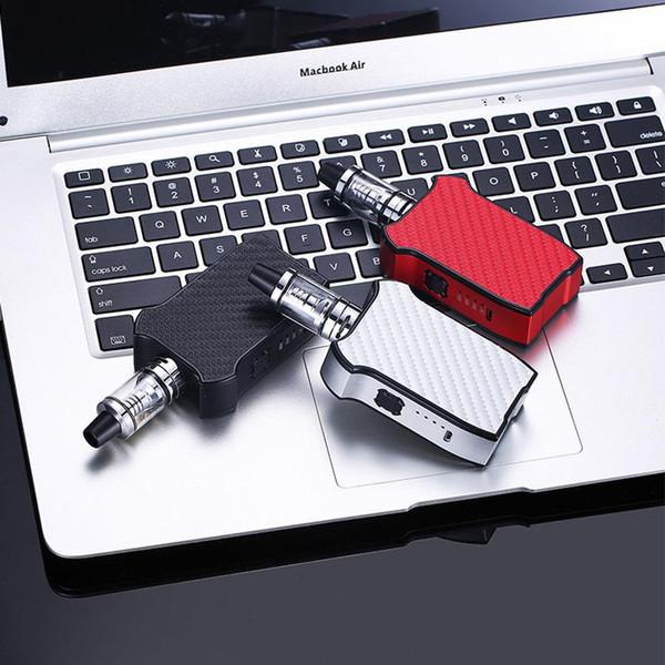1pc Violin 80w electronic cigarette vape pen box mod 2200mAh Built-in Battery vape with 2.0ml tank Vaporizer hookah vape pen kit