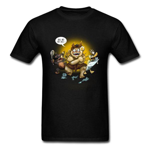 Tapas de la camisa camiseta del hombre Bali No es Interesante Venta camiseta puros de cuello redondo para hombre TOP camisetas Srbija historietas Tintín 2018 populares
