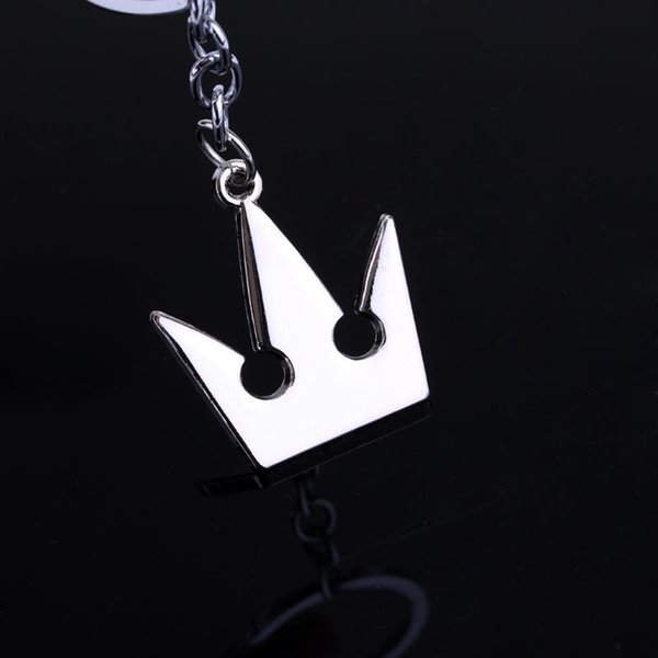 Trend New Crown Pendant Necklace For Men And Women Zinc Alloy King Heart Simple Casual Matching Gift Jewelry