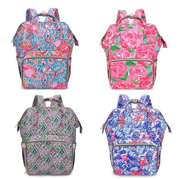 Multi-use Tote Baby Mummy Bag Changing Bags Diaper Nappy Rucksack Backpack