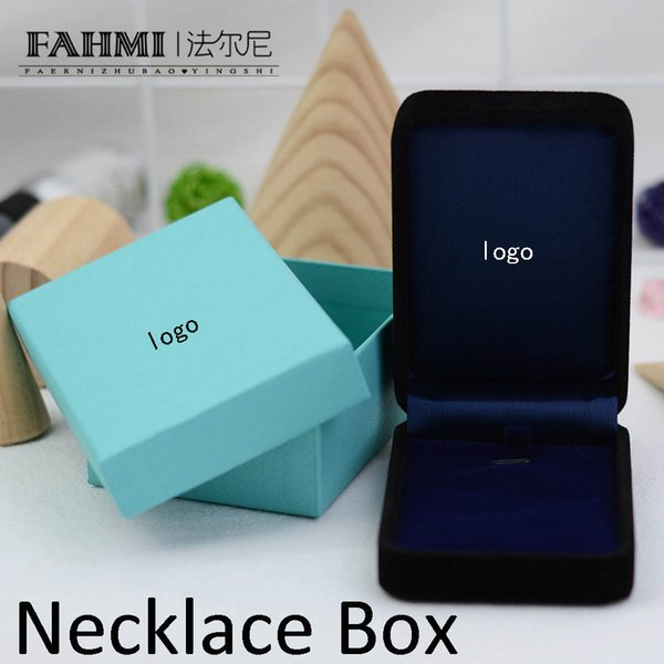 FAHMI Charm Original Classic Jewelry Beautiful Protection Box High-grade Packaging Necklace Box Manufacturers Wholesal