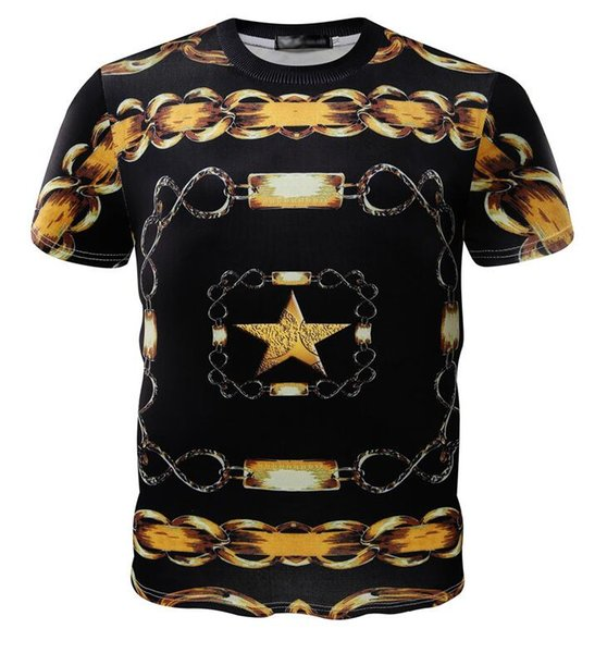 2019 Special Offer For Men's T-Shirts O-neck Plus Size S-5XL T-shirt For men Summer short-sleeved shirt branded T-shirt man