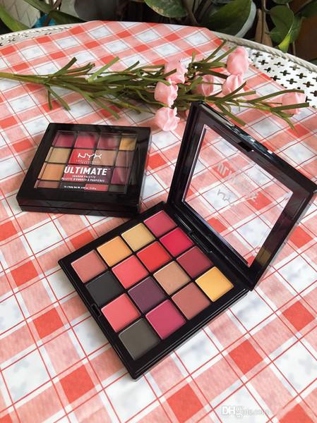 top popular New NYX Eye Makeup Ultimate 16 Colors Phoenix Eyeshadow Palette Shimmer Matte Eye Shadow Cosmetics palette 2021