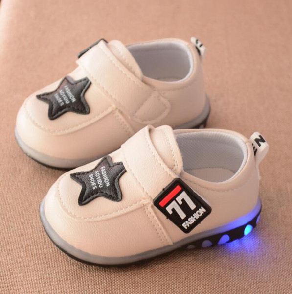 Çocuklar Spor Ayakkabı Çocuk Atletik Ayakkabı Bebek Erkek Ve Kız Sneakers Yeni Moda Rahat Ayakkabı Bebek Yürüyor Ayakkabı 4 renkler size16-19 lw42402
