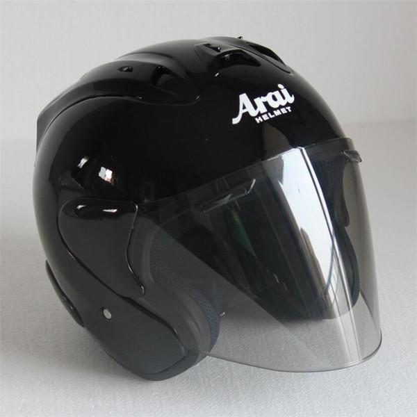 2017 Top hot ARAI helmet motorcycle helmet half helmet open face casque motocross SIZE: S M L XL XXL,,Capacete00