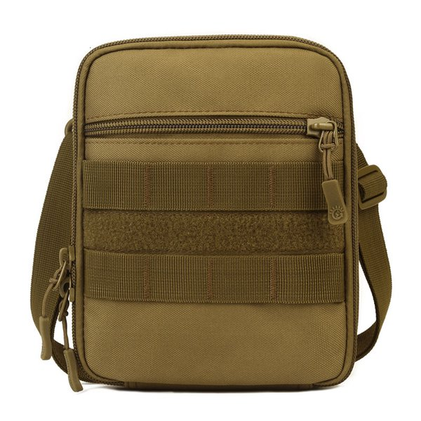 Protector Plus Nylon Tactical Sling Bag 6 Colors Organizer/Waist Belt Bag Molle Army Sundries Bags with Shoulder Strap