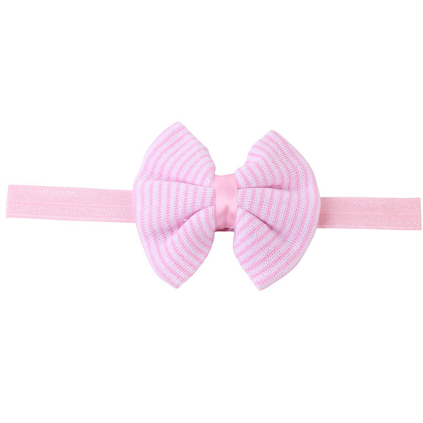 Best gifts Hair Accessories Nylon Headbands for Girls Elastic Hair Bands Striped Plaid Flower Print Fabric Knot Bows Kids Headwear