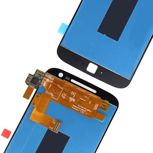 Для Motorola Moto G4 Plus ЖК-дисплей и сенсорный экран с рамкой Для Motorola Moto G4 Plus Цифровой аксессуар + инструменты Ypf27-137