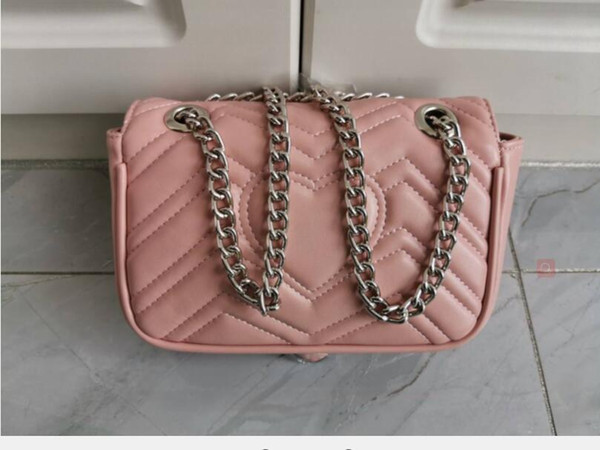 pink/silver chain