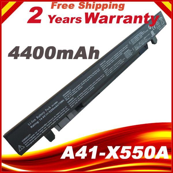 x550l Batterie A41-X550 A41-X550A Pour ASUS X550L X450 X450C R409CC X552E K5 X550VB X550VC A450 A550 F450 K450 K550