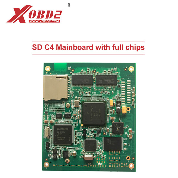 SD C4 Mainboard PCB with 5200 Chip and Flash Main Board Work for MB Star SD Connect C4 and C5 Diagnostic Tool