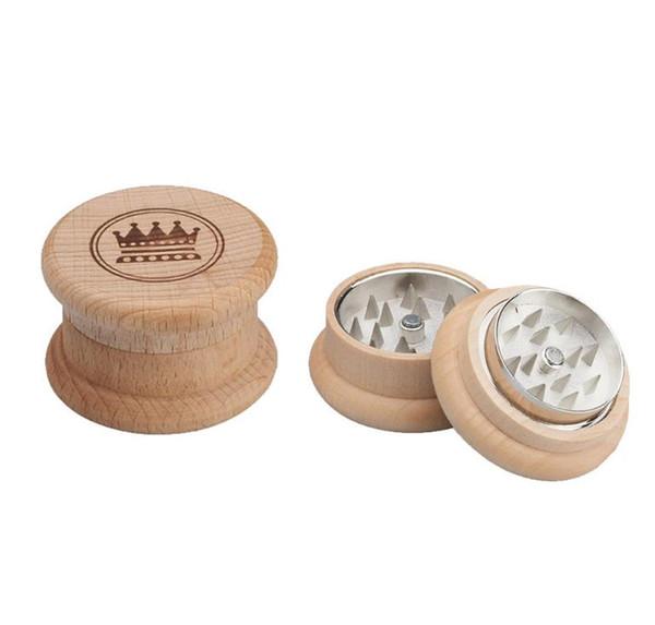 Zinklegierungs-Rauchschleifer mit 45 mm Durchmesser Kronenschleifer für Holz-Doppelschicht-Rauchschleifer