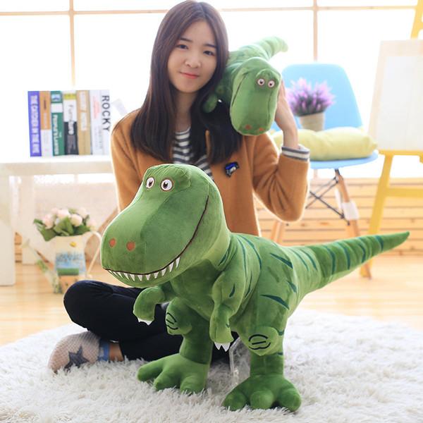 1pc 40-100cm New Dinosaur Plush Toys Cartoon Tyrannosaurus Cute Stuffed Toy Dolls for Kids Children Boys Birthday G