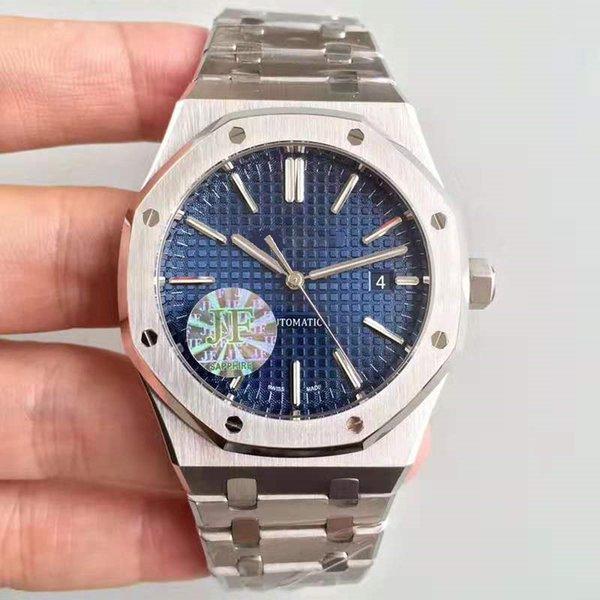 2020 En lüks erkek 15400 KRALİYET MEŞE Otomatik izle J.F Cal 3120 hareketi Paslanmaz çelik tasarımcısı saatler kol saati izlemek 41mm saatler