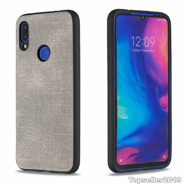 For Red Mi NOTE7 Anti Shock Plaster Denim Texture TPU Phone Case Back Cover Freeshipping High Quality Wholesale B117
