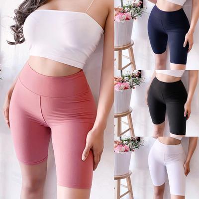 Eğlence Spor Kadın Yarım Uzun Pantolon, Bayan ve Kızın Vücut Zayıflama Pantolon, Seksi Yaz Rahat Pantolon