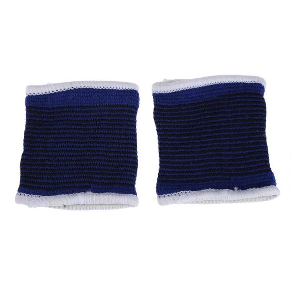 1Pair Elasticated Knee Blue Knee Pads Support Brace Leg Arthritis Injury GYM Sleeve Elasticated Bandage Ankle Brace Z95 #310129