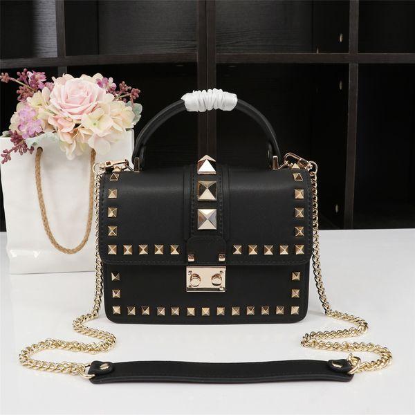 Ladies HandBag Mini Chain Crossbody Bags for Women Fashion Genuine Leather Shoulder Messenger Bag Female Rivet Flap Tote marca Bolsas