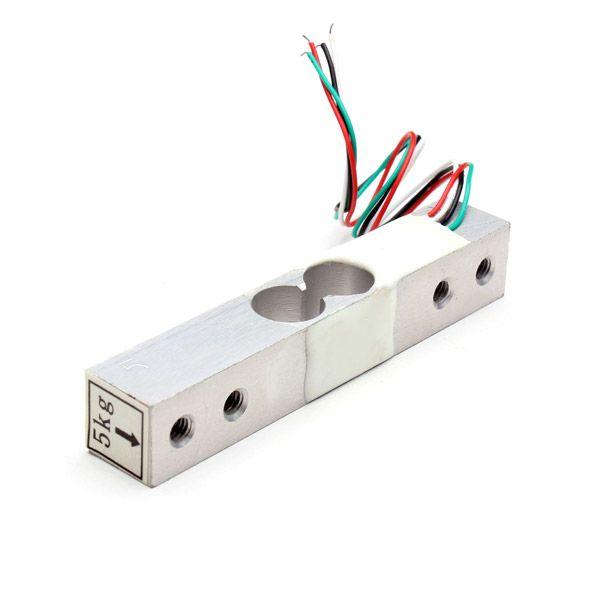 Brand New Portable Sensor de peso electrónico Celda de carga Pesaje del sensor Escala 5 kg Voltaje del controlador 5 -10v al por mayor