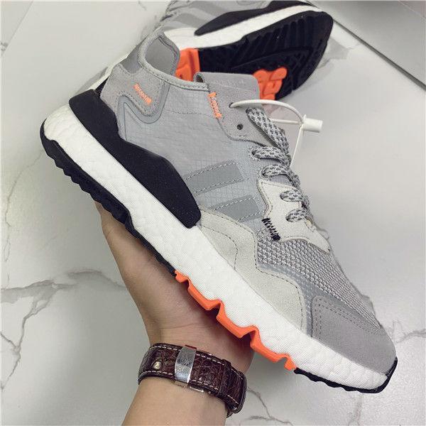 Mens Nite Jogger Boot pour les Chaussures de course Homme Formateurs Femmes 3M Jogging Chaussure Femme réfléchissant Sneaker Femmes Chaussures Homme