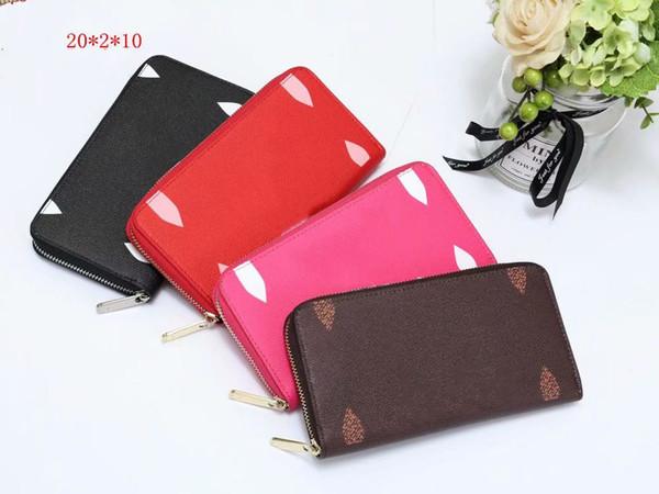 Designer donne Classic Portafogli lusso Portafoglio alta Lady marchio di qualità di temperamento di modo regalo borse Nizza donne presenti