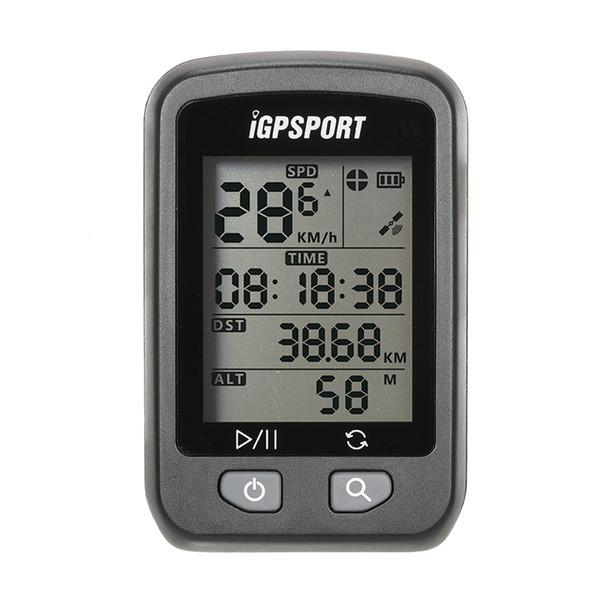 GPS iGPSPORT GPS Inalámbrico IPX6 Impermeable Bicyle Ordenador Retroiluminación Automática Pantalla Bicicleta Ciclo Ciclómetro Odómetro con Montaje