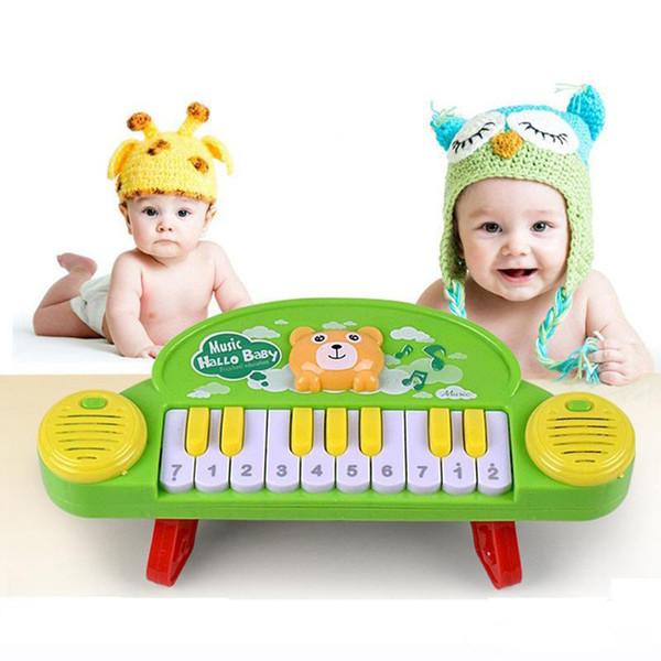 Petit Piano Nouveau Infantile Intelligence Instrument de musique Électrique Petite enfance Éducation Musique Bande dessinée Animal Jouet Piano électronique Orgue