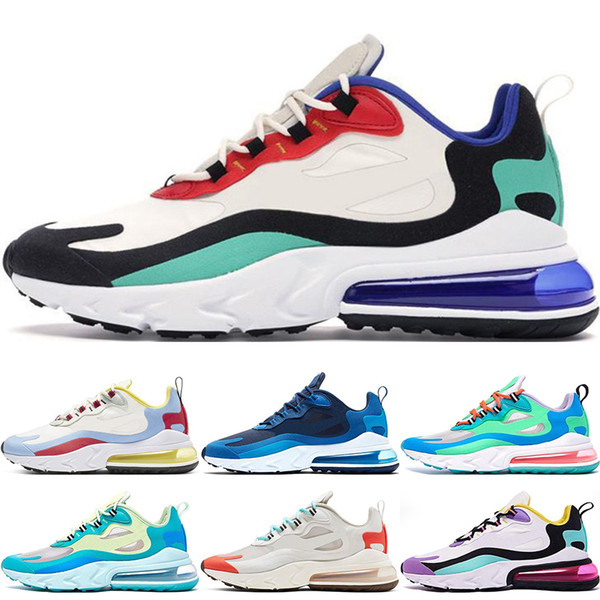 best selling Blue Void Bright Violet Bauhaus React Men Running Shoes Electro Green Optical Mens Trainers Triple Sports Outdoor Designer Sneakers 36-45