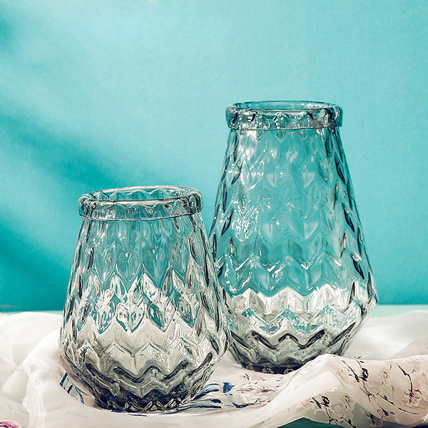 home goods decorative vases.htm europe pineapple road glass vase high quality handmade large vases  europe pineapple road glass vase high