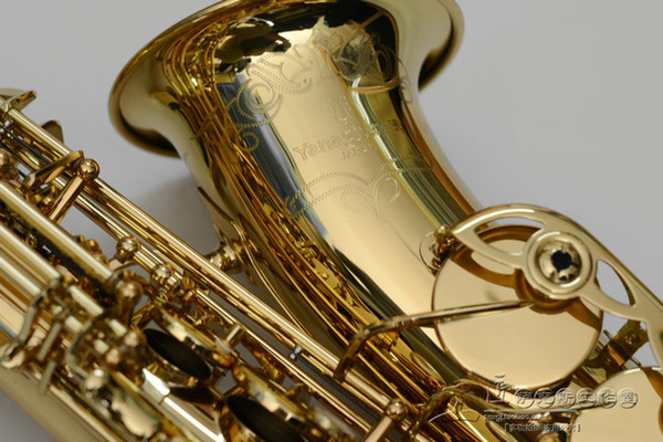 YANAGISAWA A-991 Alto Eb Tune Saxophone Musical instruments Brass Body Gold Lacquer Surface New Sax With Case Mouthpiece Free Shipping