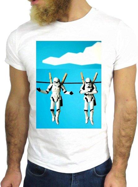 Футболка JODE Z1985 STORMTRUPPEN ЗВЕЗДА ПРАЧЕЧНАЯ СМЕШНАЯ США МОДА ХОЛОДНАЯ Ницца GGG24 Мужчины Женщины Унисекс Мода футболка Бесплатная Доставка Смешно Круто