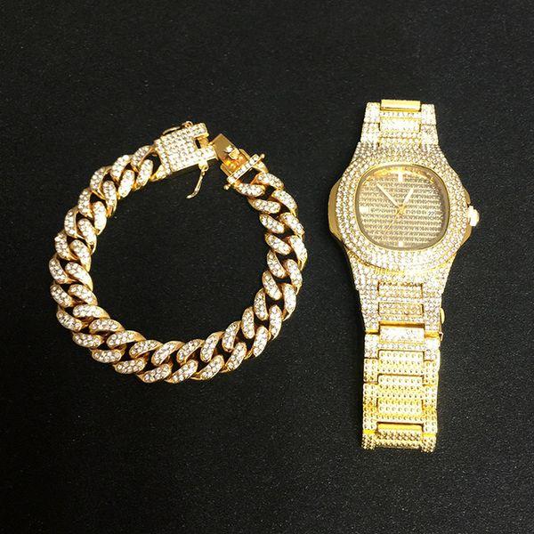 Reloj pulsera de oro