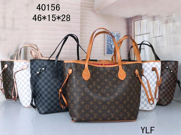 2020 Frauen Markenbeutel Luxus-Dame PU-Leder-Handtaschen berühmter Designer Markenbeutel Geldbeutel Schulter Tasche 40156