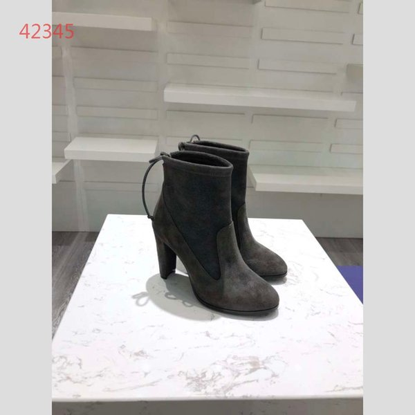 2019 Sonbahar ve kış Kadın moda Çizmeler lüks tasarımcı ayakkabı genuinr deri yüksek topuklu Çizmeler drop shipping ayakkabı a1