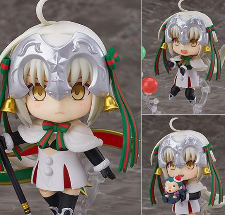 GSC Fate Fgo Action Figures 815 Nendoroid Saber Q Edition Lily Model Toys 10cm