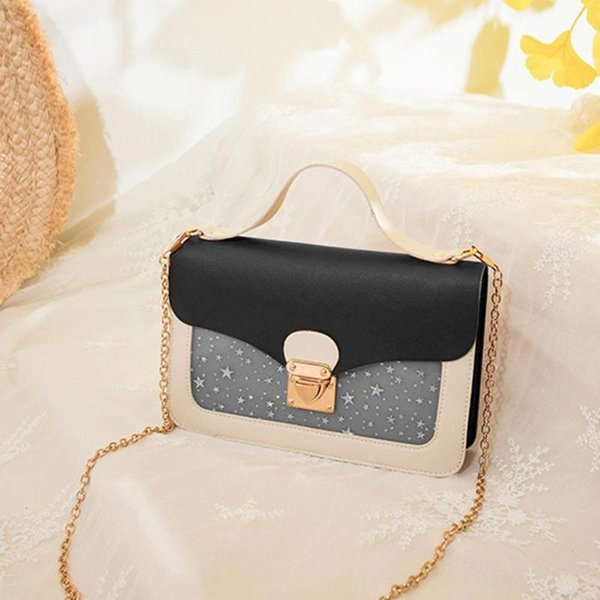 Womens Bags Crossbody Bags Fashion Women Mortise Lock Mini Bag Vintage Shoulder Cross Body Bag Blue