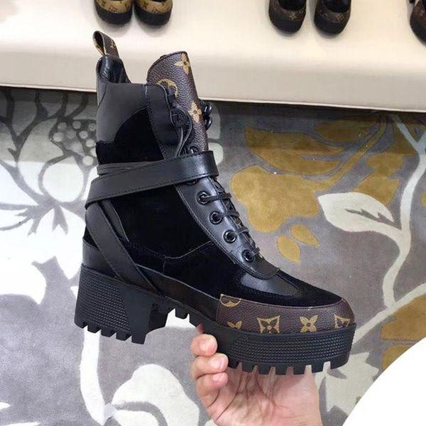 Модные сапоги для Женщин Высокого Качества Женская Обувь Ботильоны Мартин Сапоги Лауреат Платформа Desert Boot Старинные Женская Обувь на продажу