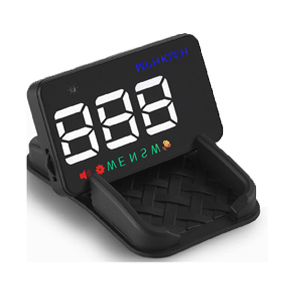 A5 Mini GPS HUD Speedometer Car Parts 3.5 Inch A5 GPS HUD Window Projector Speedometer Car Heads Up Display