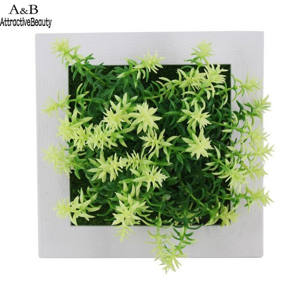 Various Artificial Flower Simulation Plant for As Picture Pattern 1-19 Home Wall Decoration