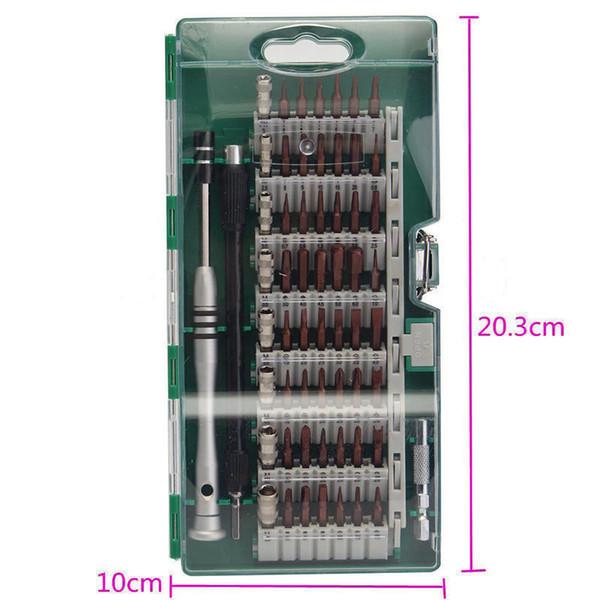 top popular 60in1 Tool Steel Precision Screwdriver Nutdriver Bit Repair B00674 2021