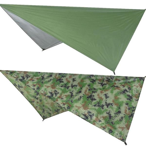 Ultralight Tarp Outdoor Camping Survival Sun Shelter Shade Awning Silver Coating Waterproof Beach Tent