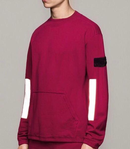 best selling 19SS jumper Hoodie Men Women Women 1:1 Sweatshirts Big Tag Hip Hop Hoodie Embroidery Black Gray Pullover